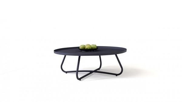 table d'appoint en acier Tablat 97 cm - anthracite