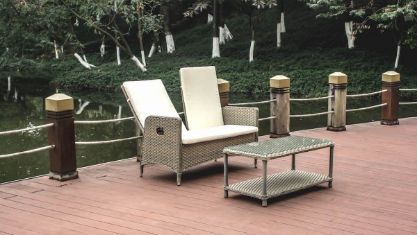 Doona fauteuil avec table / verre, dossier avec fonction hydraulique