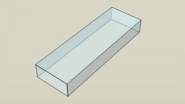 Covering sheet 215x75x30