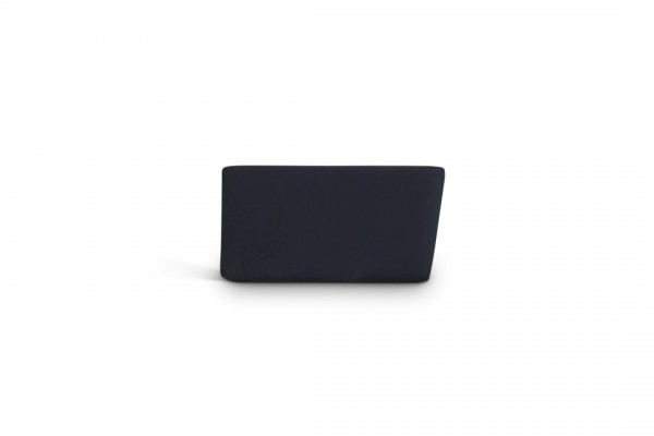 Stainless steel side cushion- black