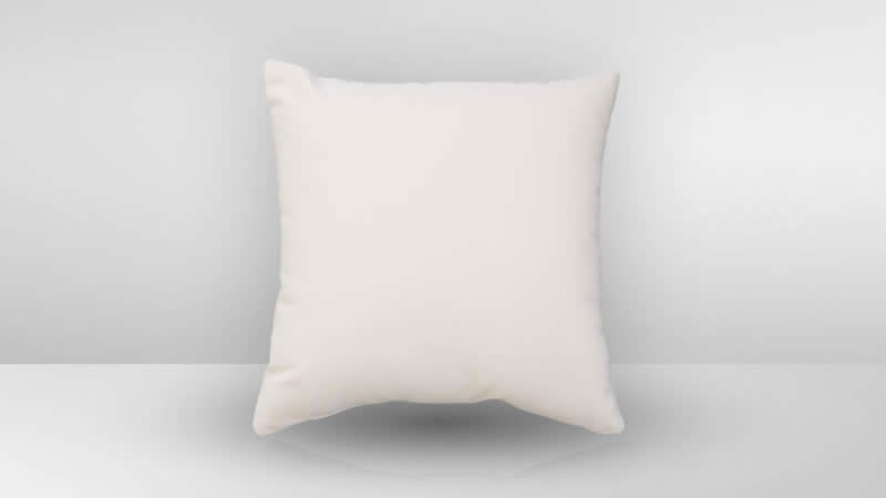 Kissen 50cm x 50cm - crema /verfügbar ab: 15.02.2019