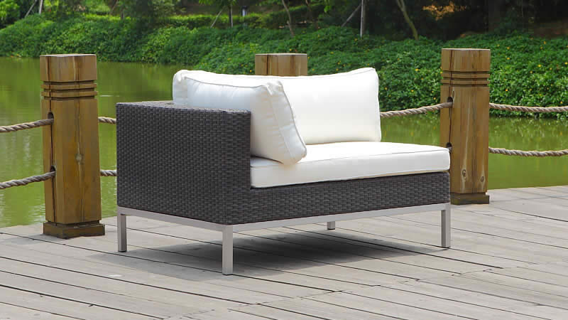 gr silva polyrattan ecksofa l weiss living zone gartenmoebel living zone. Black Bedroom Furniture Sets. Home Design Ideas