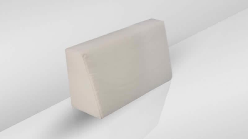 Cube Seitenauflage (l) - crema