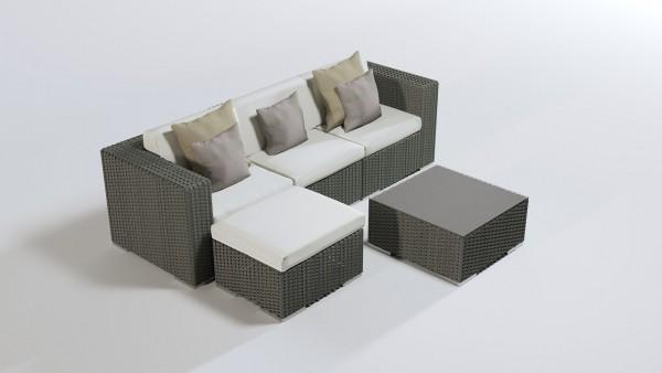 Mesa back - and seat cushion until 2011 - cream