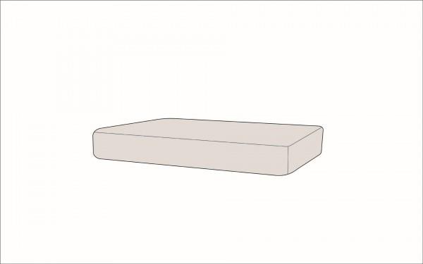 Silva Seat Cushion 120x73 cm - cream