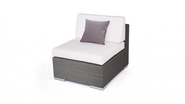 """canapé pièce centrale """"Cube"""" - anthra"""