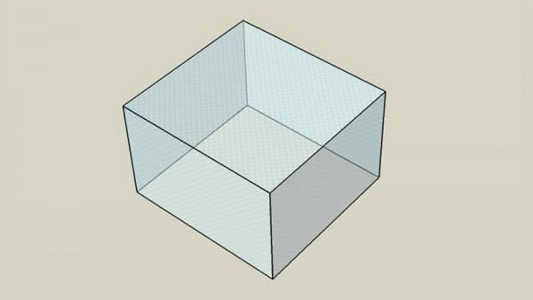 Covering sheet 100x95x60