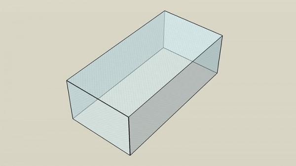 Covering sheet doona 6, angular