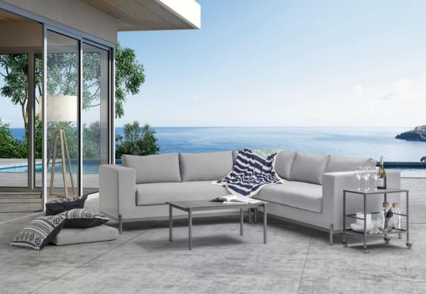 Textilene seating group set tabaconas - grey
