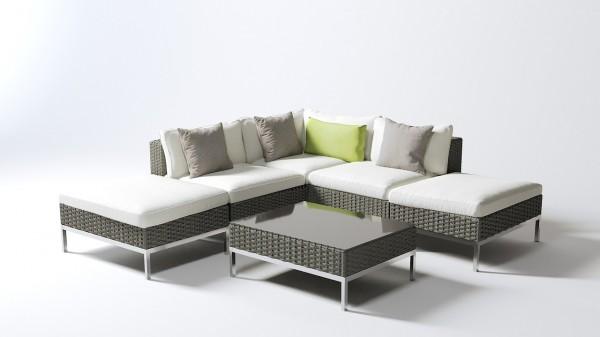 Dijon back - and seat cushion - cream
