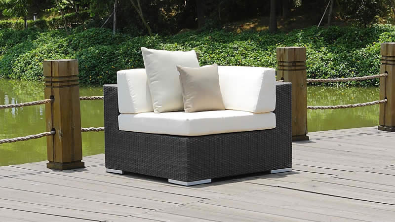 polyrattan sofa cube ecksofa living zone gartenm bel living zone. Black Bedroom Furniture Sets. Home Design Ideas