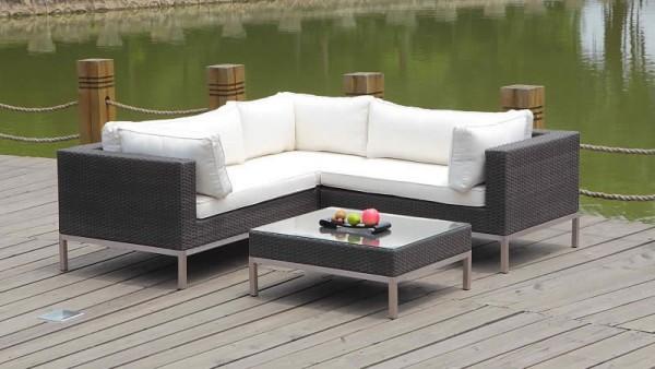 Rattan lounge ausverkauf  LIVING ZONE