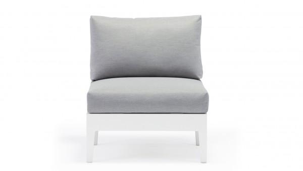 """Alea"" canapé pièce centrale - blanc"