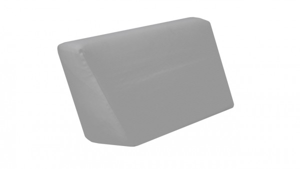 Cube Seitenauflage, rechts - steingrau
