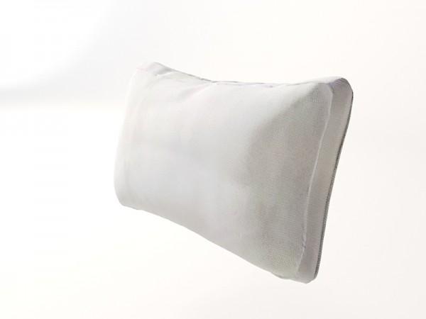 Silva side cushion 63x37 cm - cream
