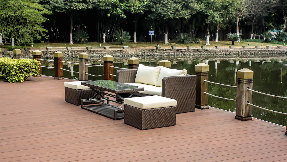 balka braun living zone gartenmoebel living zone. Black Bedroom Furniture Sets. Home Design Ideas