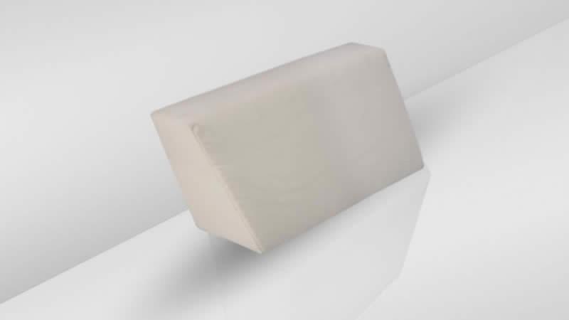 Cube Seitenauflage, rechts - crema
