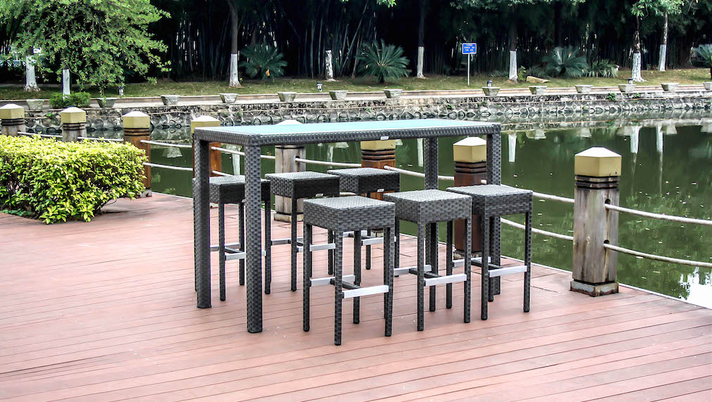 polyrattan bar set big batu living zone gartenmoebel living zone. Black Bedroom Furniture Sets. Home Design Ideas