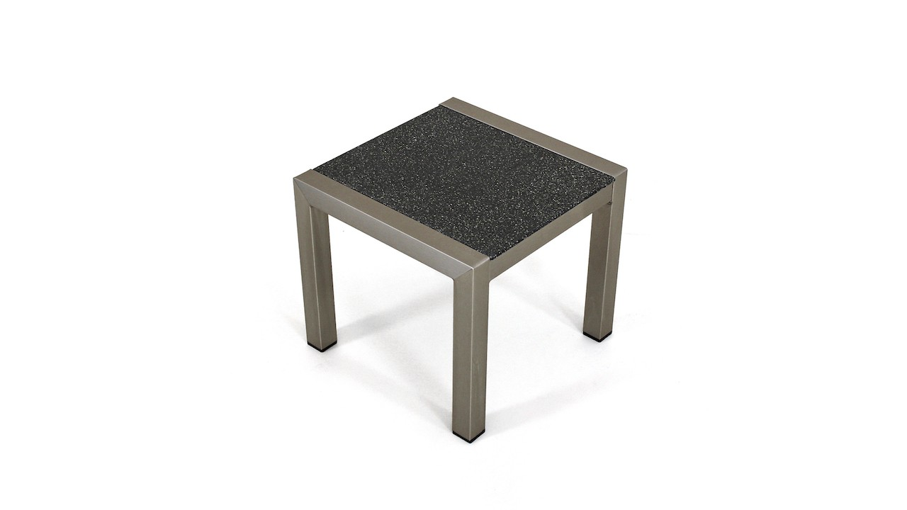 table basse en aluminium verre granit - table basse en aluminium ...