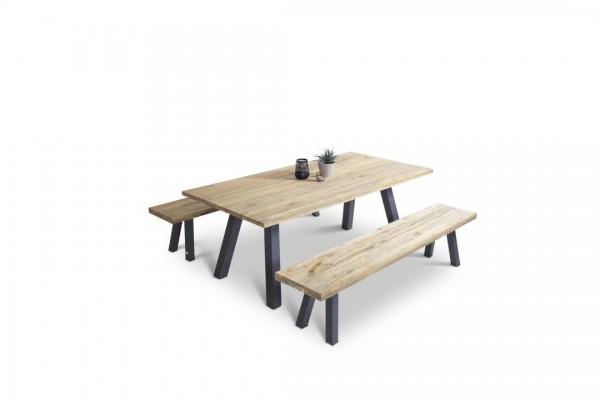 Alu Essgruppe Timber 6 - anthrazit