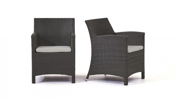 """Set chaise """"Mulee"""" (2x) - anthra"""